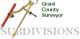 grant county subdivisions